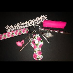 Self defense key chains